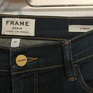 Frame Denim Jeans - Frame Denim Le Garcon Sz 29 Rosewood